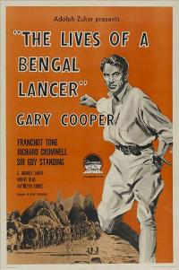 The Lives of a Bengal Lancer - 27 x 40 Movie Poster - Style C
