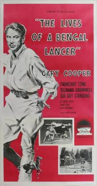 The Lives of a Bengal Lancer - 11 x 17 Movie Poster - Style D