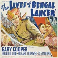 The Lives of a Bengal Lancer - 40 x 40 - Movie Poster - Style A