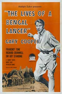 The Lives of a Bengal Lancer - 43 x 62 Movie Poster - Bus Shelter Style B
