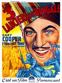 The Lives of a Bengal Lancer - 11 x 17 Movie Poster - Spanish Style C