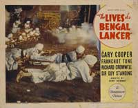 The Lives of a Bengal Lancer - 11 x 14 Movie Poster - Style K