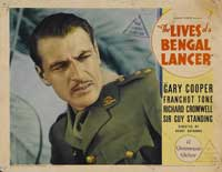 The Lives of a Bengal Lancer - 11 x 14 Movie Poster - Style N