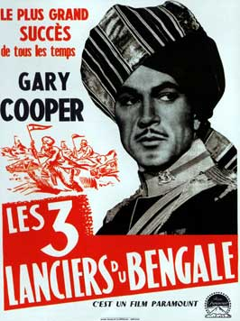 The Lives of a Bengal Lancer - 11 x 17 Movie Poster - French Style A