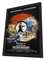 The Living Daylights - 27 x 40 Movie Poster - Style C - in Deluxe Wood Frame
