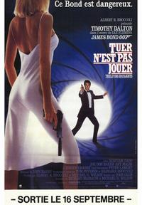 The Living Daylights - 47 x 62 Movie Poster - French Style A