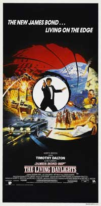 The Living Daylights - 13 x 30 Movie Poster - Australian Style A