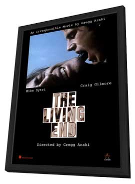 The Living End - 11 x 17 Movie Poster - Style A - in Deluxe Wood Frame