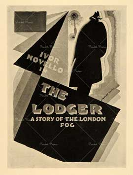 The Lodger - 11 x 17 Movie Poster - UK Style A