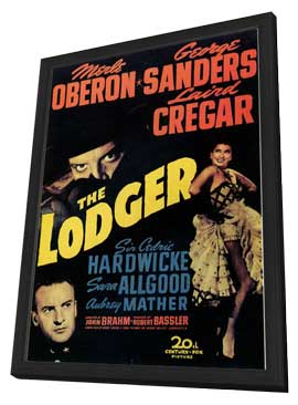 The Lodger - 11 x 17 Movie Poster - Style A - in Deluxe Wood Frame