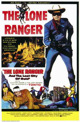 The Lone Ranger and the Lost City of Gold - 11 x 17 Movie Poster - Style A