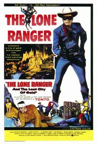 The Lone Ranger and the Lost City of Gold - 27 x 40 Movie Poster - Style A