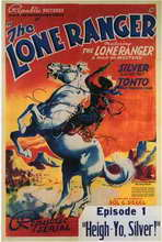 The Lone Ranger - 11 x 17 Movie Poster - Style C