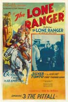 The Lone Ranger - 27 x 40 Movie Poster - Style F