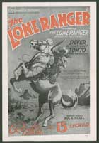 The Lone Ranger - 11 x 17 Movie Poster - Style F