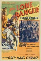 The Lone Ranger - 11 x 17 Movie Poster - Style G