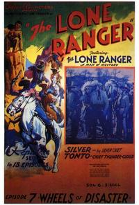The Lone Ranger - 27 x 40 Movie Poster - Style B