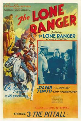 The Lone Ranger - 11 x 17 Movie Poster - Style E