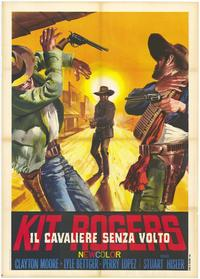 The Lone Ranger - 11 x 17 Movie Poster - Italian Style A
