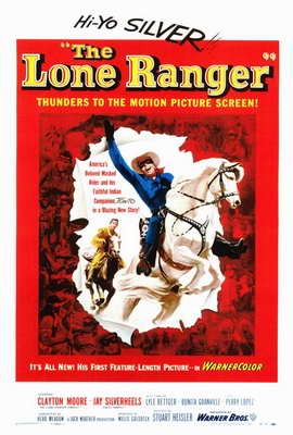 The Lone Ranger - 27 x 40 Movie Poster - Style A