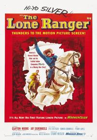 The Lone Ranger - 43 x 62 Movie Poster - Bus Shelter Style A