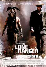 The Lone Ranger - DS 1 Sheet Movie Poster - Style B