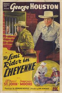 The Lone Rider in Cheyenne - 11 x 17 Movie Poster - Style A