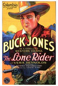 The Lone Rider - 27 x 40 Movie Poster - Style A