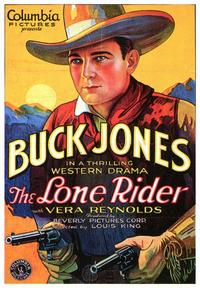 The Lone Rider - 43 x 62 Movie Poster - Bus Shelter Style A