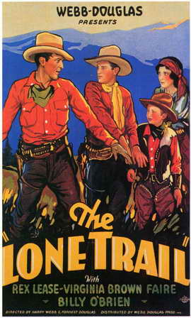 The Lone Trail - 11 x 17 Movie Poster - Style A