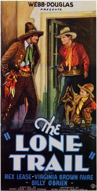 The Lone Trail - 27 x 40 Movie Poster - Style B