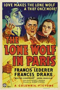 The Lone Wolf in Paris - 11 x 17 Movie Poster - Style A
