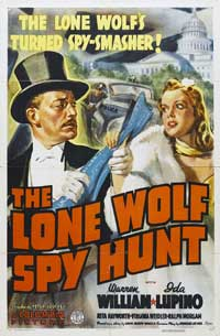 The Lone Wolf Spy Hunt - 11 x 17 Movie Poster - Style B