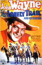 The Lonely Trail - 11 x 17 Movie Poster - Style A