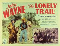 The Lonely Trail - 11 x 14 Movie Poster - Style A
