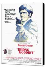 The Long Goodbye - 27 x 40 Movie Poster - Style B - Museum Wrapped Canvas