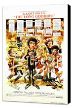 The Long Goodbye - 27 x 40 Movie Poster - Style D - Museum Wrapped Canvas