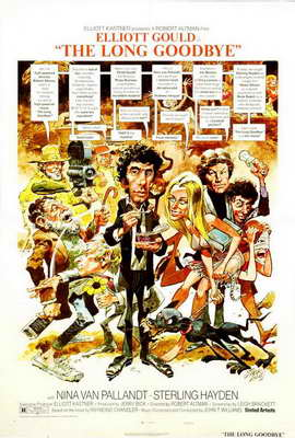 The Long Goodbye - 27 x 40 Movie Poster - Style D