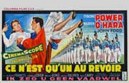 The Long Gray Line - 11 x 17 Movie Poster - Belgian Style A