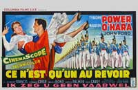 The Long Gray Line - 27 x 40 Movie Poster - Belgian Style A