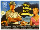 The Long, Hot Summer - 30 x 40 Movie Poster UK - Style A