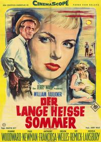 The Long, Hot Summer - 11 x 17 Movie Poster - German Style A