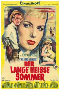 The Long, Hot Summer - 27 x 40 Movie Poster - German Style A