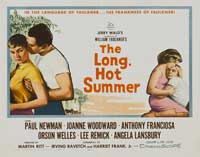 The Long, Hot Summer - 22 x 28 Movie Poster - Half Sheet Style A