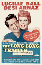 The Long, Long Trailer - 27 x 40 Movie Poster - Style A