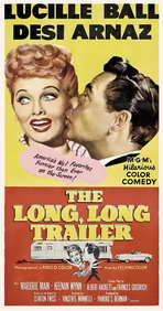 The Long, Long Trailer - 11 x 17 Movie Poster - Style C