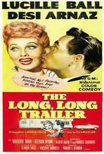 The Long, Long Trailer - 27 x 40 Movie Poster - Style B