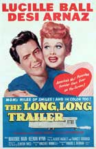 The Long, Long Trailer - 43 x 62 Movie Poster - Bus Shelter Style A