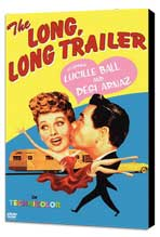 The Long, Long Trailer - 11 x 17 Movie Poster - Style A - Museum Wrapped Canvas