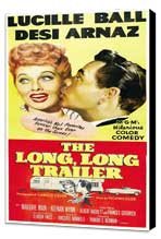 The Long, Long Trailer - 27 x 40 Movie Poster - Style B - Museum Wrapped Canvas
